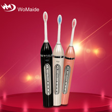 adult electric toothbrush with brush head holder
