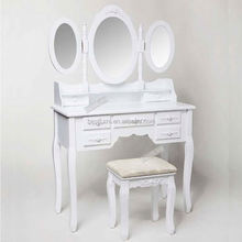 2015 Hot Selling European Style Lady Furniture Vanity Table Factory &Supplier&Seller&Distributor