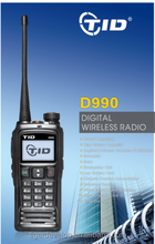 D-990 durable digital radio emergency call message sending dpmr handy walkie talkie