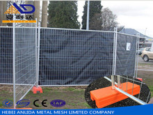 Alibaba China silver Australia Metal temporary fence