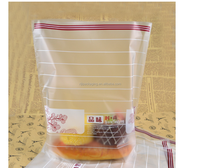 Self-Adhesive Side Gusset Cellophane Opp / Bopp Gusset Bag With Logo