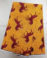 H436 horse 100% cotton 6 YARD Guaranteed real dutch wax block african ankara fabric wax