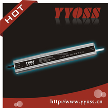 12V Series PFC>0.95 40W Waterproof 120vac 220vac to 12vdc led Power Supply high efficiency
