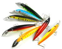 Metal Bib Fishing Lures 14CM 16.2G Minnow Lure Fishing Equipments