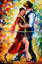 100% Hanamade Dancing <span class=keywords><strong>Imagen</strong></span> Para Pintura