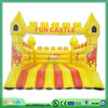Good quality castle house inflatable slide