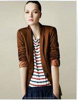 Yigelila 902 Ladies Wholesale High Range Coffee Women Long Sleeve Short Trench Winter Coats Jackets