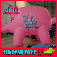 Inflatable Pig Character Balloon For Promotion,Helium Balloon Inflatable