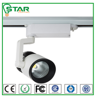 color changing museum led cob track lighting 35w