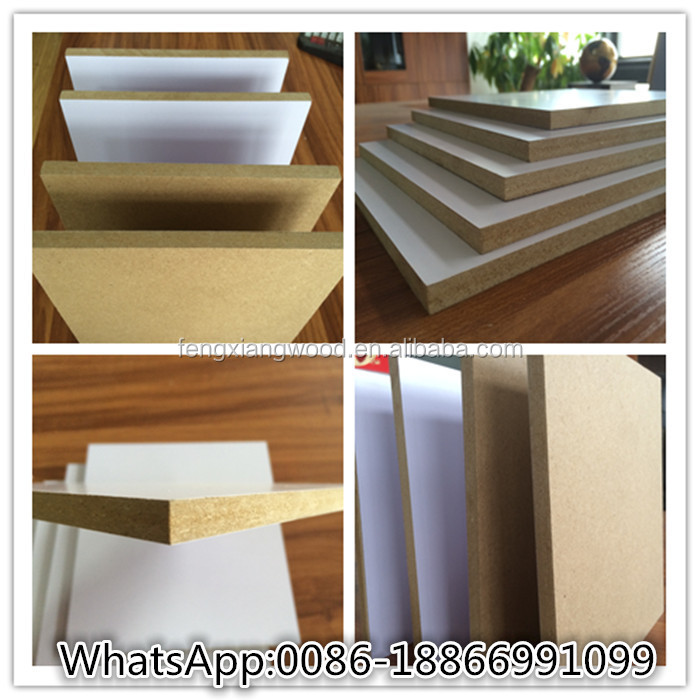 Melamine paper face mdf linyi supplier buy