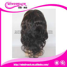 Mindreach Highlight glueless silk top full lace wig