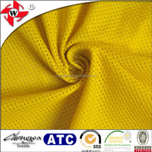 Chuangwei Textile Mini Elastic Mesh Fabric/Sweat Releasing Undershirts Fabric