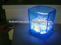 Acrylic unique ice bucket, ice cooler or sand ice bucket