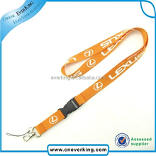 tool safety custom orange lanyard with quick release connecter