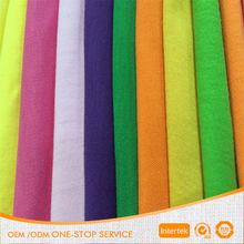 32S 190gsm 185cm 95% cotton 5% elastane cotton knitted fabric for T-shirt