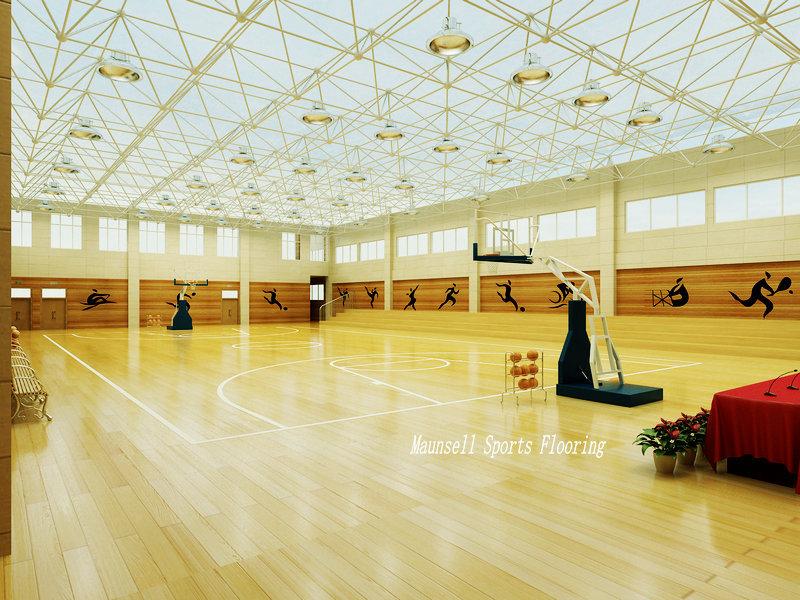 Portable indoor basketball court mat pvc sports floor with for Buy indoor basketball court