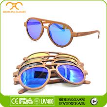 100% handcraft sunglasses wood and bamboo glasses brand logo free