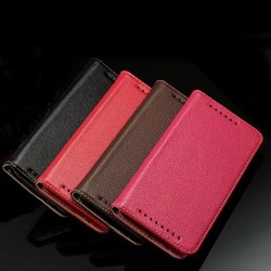For HTC one M9 wallet leather flip cover genuine leather case