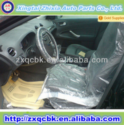 2015 NO.1 sale PE car seat cover/plastic car seat cover/full car seat cover set