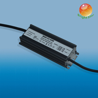 60w 3A high PFC waterproof ip67constant current led power supply power with 3-year warranty for streetlight
