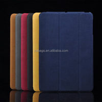 Most popular crazy selling skull pu case for ipad 2