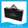 new style black paper art bag with clothing