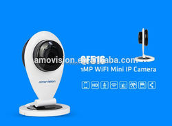 QF516 cell phone controlled remote baby/pet/home monitor wifi camera bay monitor p2p ipcam