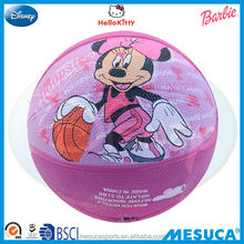 Disney license rubber basketball DA1007-B
