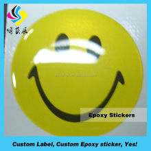 custom epoxy sticker clear dome epoxy resin sticker