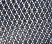 Aluminum material expanded wire mesh and window and door screen type