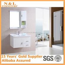 2012 hot sell double artificial stone basin PVC Bathroom Vanity, MFC bathroom cabinet set, bathroom vanity