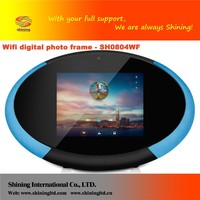 8 inch WIFI Touchscreen digital online pictures photo frame