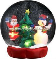 2012 new Christmas inflatables/inflatable Christmas decoration/inflatable Christmas snow ball