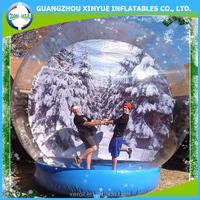 Cheap PVC christmas decoration inflatable giant snow globe