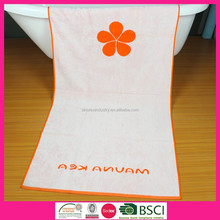 Holiday promotional woven jacquard beach towel