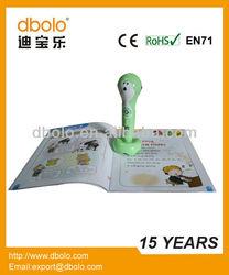 Whosale children sound book & reading pen