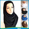 viscose black hijab scarf