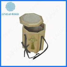 Caliente venta de China ataúd fabricante, Funeral ataúd, madera ataúd
