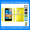 1GHz CPU Bluetooth Dual and Standby Smart 4 inch android mobile phone