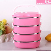 Stainless Steel Hot Thermos Lunch Box , stainless steel insulated lunch box