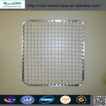 high quality!! Barbecue wire mesh & Barbecue grill netting & stainless steel BBQ grill