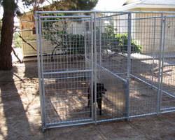 """Dog Kennel Fence /4 Panels 28"""" Metla dog fence"""
