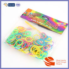 2014 Hot selling colorful rubber loom bands