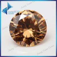 European machine cut high grade champagne brown diamonds