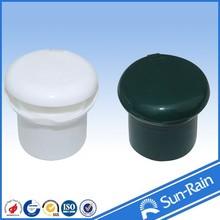 China cosmetic New pump Nail polish remover pump sprayer pump bottle cap plastic cap disc top