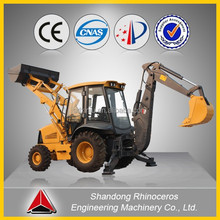 Chinese mini backhoe loader 7t 4x2 4x4 cheap small tractor backhoe loader small garden tractor backhoe loader for sale