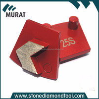 Concrete metal diamond abrasive tool for cleaning