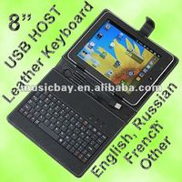 2012 best selling pc keyboard for 8 inch android tablet