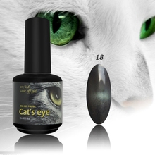 gel nail polish that changes color with cat eye effect