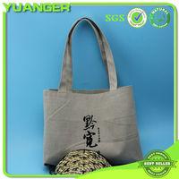 Eco Friendly Silk-screen Jute Handle Shoulder Shopping Bag Manufacturer